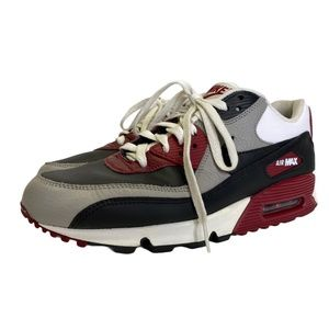 Nike Air Max 90 Essential 2011 Size 9.5 Grey Red